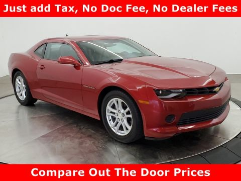 Pre-Owned 2014 Chevrolet Camaro LS RWD 2dr Car