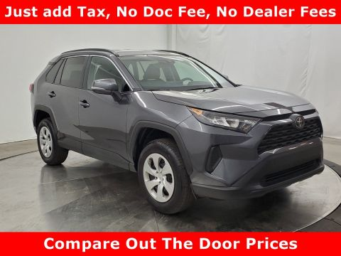 Pre-Owned 2019 Toyota RAV4 LE FWD Sport Utility