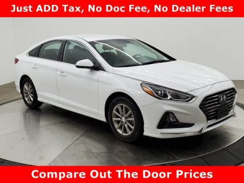 Certified Pre-Owned 2019 Hyundai Sonata SE FWD 4dr Car